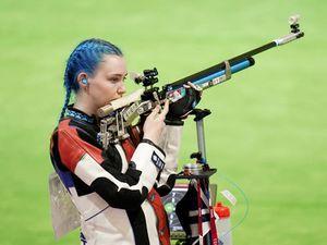 Seonaid McIntosh fails to reach women's 10m air rifle final in first medal event