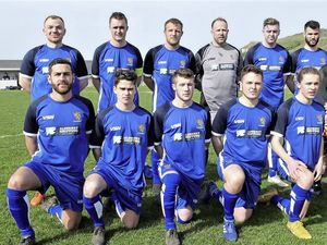 Best ever?: Alderney wore their new kit for the first time last weekend at home to Manzur. (24147039)