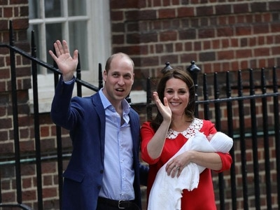 'Welcome to the world'- Stars congratulate royals on baby