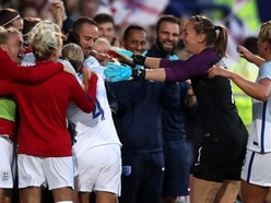 Nobbs: Celebration with Sampson 'natural' for 'together' England Women team