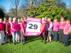 Fundraising focus this time to help those with breast cancer