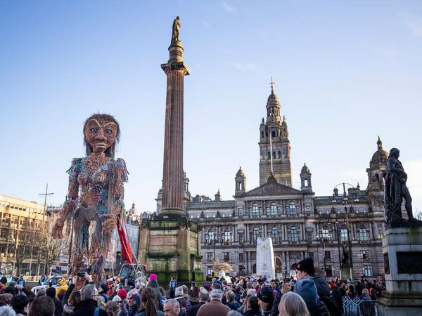 'Storm' heading for Glasgow as giant puppet returns for Cop26