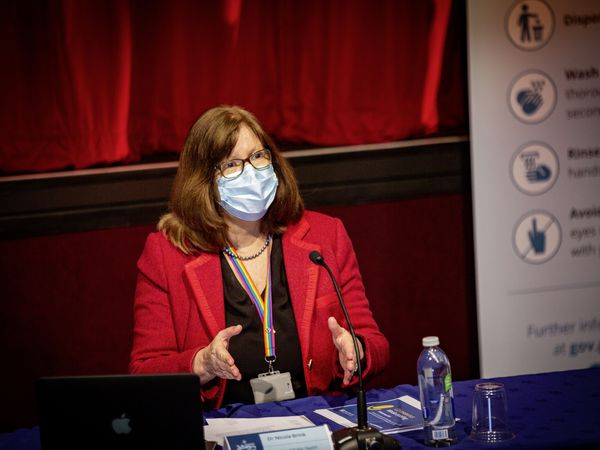 Director of Public Health Dr Nicola Brink. (Picture by Sophie Rabey, 29184630)