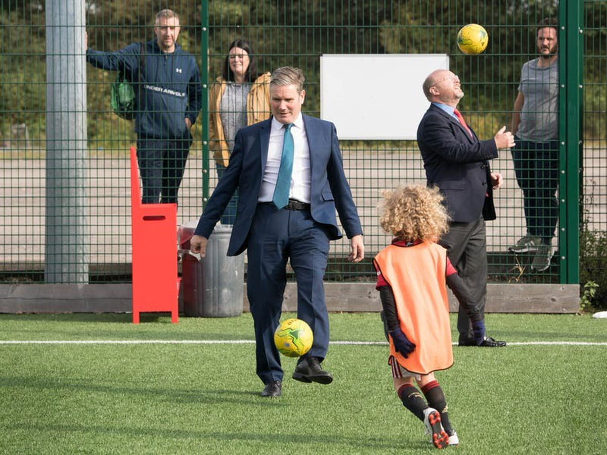 Sir Keir Starmer reveals his lawyer background means he is pro-VAR in football
