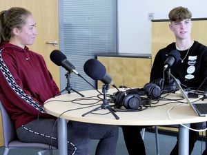 Back in their home island, professional footballers Maya Le Tissier and Alex Scott are the special guests on this week's Guernsey Press Football Podcast, which is out now. (29585070)
