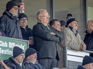 Guernsey Raiders v Tunbridge Wells. Guernsey Rugby Club chairman Charles McHugh watching the game...Picture by Martin Gray, www.guernseysportphotography.com. (29403324)