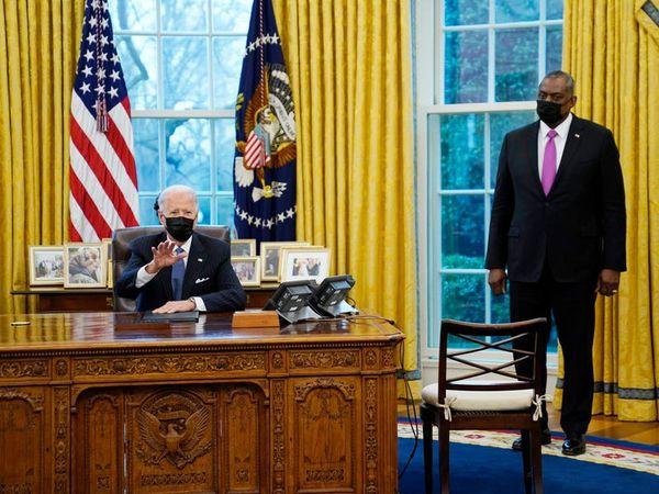 Joe Biden signs order reversing Trump's transgender military ban