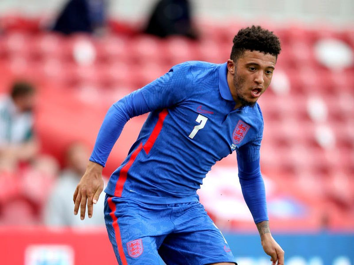 Jadon Sancho focuses on Euro 2020 amid talk over his club future
