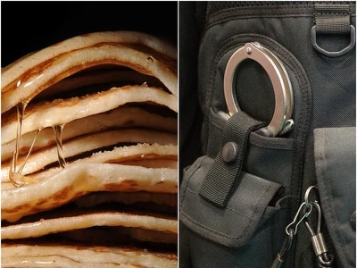 Police hope to toss suspects in jail after setting pancake honey trap