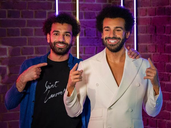 Mohamed Salah says Madame Tussauds waxwork is 'a blessing'