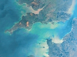 Guernsey: how it looks from space...