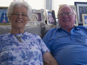 Picture By Cassidy Jones. 30-08-21 Leona and Rex Trott 60th Wedding Anniversary.. (29958672)