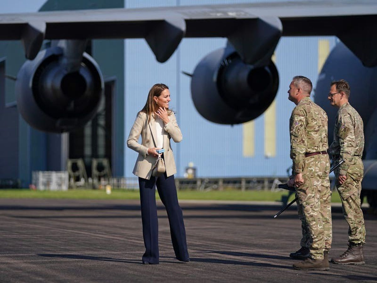 Kate hears of desperation and confusion of Afghan evacuees during rescue efforts