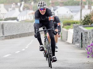 Pictures by Four3 Media  GVC Liberation Day road race Cycling - The Guernsey Velo Club Liberation Day Road race, 09-05-19. Winner James Roe.Picture by Four3 Media. (24634046)