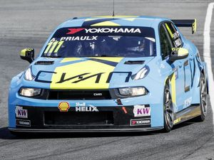 Andy Priaulx in action in his Cyan Performance Lynk & Co, Lynk & Co 03 TCR during the 2019 FIA WTCR World Touring Car cup of China, at Ningbo  from September 13-15. Picture by Frederic Le Floc'h / DPPI (26143892)