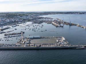 The future of the harbour is likely to provoke the most lengthy and impassioned debate this week. (Picture by Peter Frankland, 29653338)