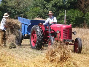 Picture By Steve Sarre 04-08-18.La Haye du Puits Castel.The Vintage Agricultural Show from the 1950s. (29520913)