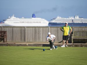 You could not ask for a better setting to play bowls than Delancey which is a key component of the island's capacity to stage international level events. (Picture By Peter Frankland, 24974558)