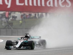 Lewis Hamilton reigns in the rain to top US Grand Prix time sheets