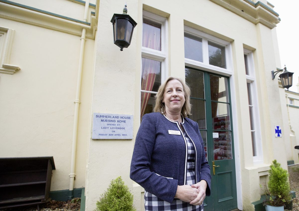 Cathy Bailey is the new chair of Guernsey Care Managers Association. (Picture by Adrian Miller, 29111890)