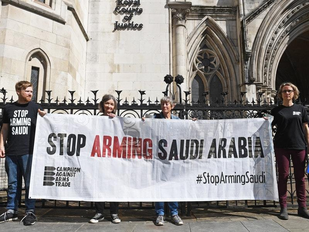 Whitehall broke court order with exports to Saudi troops in Yemen
