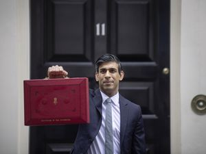 Chancellor of the Exchequer, Rishi Sunak outside 11 Downing Street, London, before heading to the House of Commons to deliver his Budget. Picture date: Wednesday March 3, 2021.. (29299405)