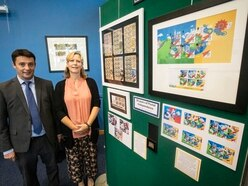 Post's exhibition marks 50th year