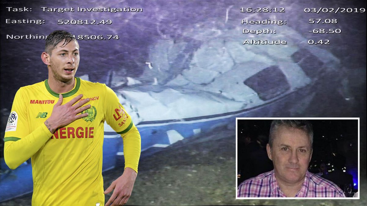 The Air Accidents Investigation Branch (AAIB) last week published its final report into the loss of Piper PA-46-310P Malibu, N264DB, on 21 January 2019. The family of footballer Emiliano Sala say delays to the inquest were 'unacceptable'. The pilot David Ibbotson inset, has never been found. Picture Supplied from AAIB.