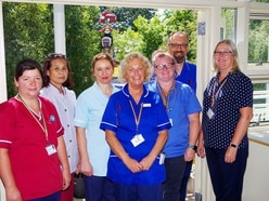 Angel of the Year: Frossard Ward staff