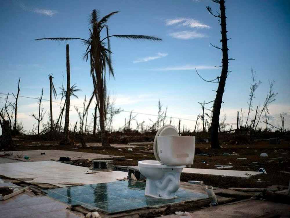 Following hurricane, Trump balks at welcoming residents of the Bahamas