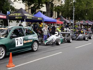 Waiting their turn at the last Val des Terres Hill Climb of the season. (Picture By Cassidy Jones, 29933477)