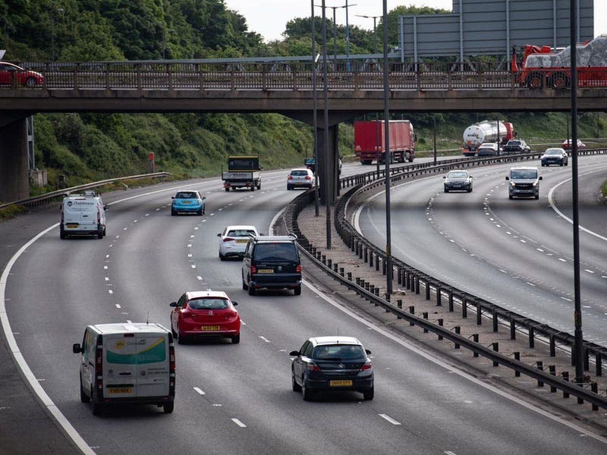 Traffic held up after cow wanders onto M6 motorway