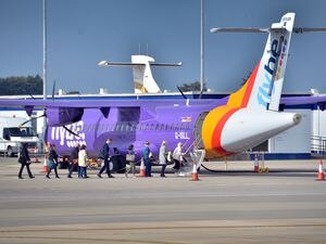 flybe blue islands airport passengers.Picture: PETER MOURANT. (23955058)