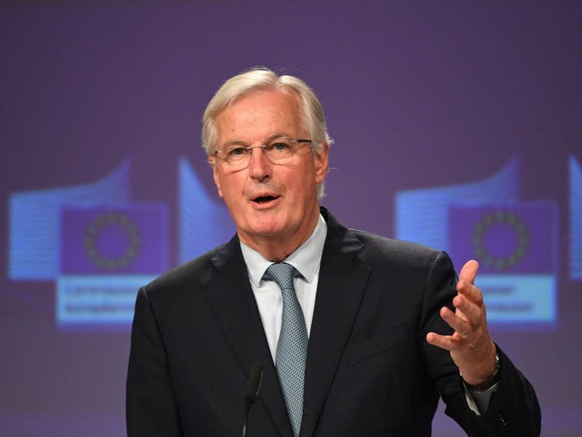 Tory 'quarrels and betrayals' determined outcome of Brexit talks, says Barnier