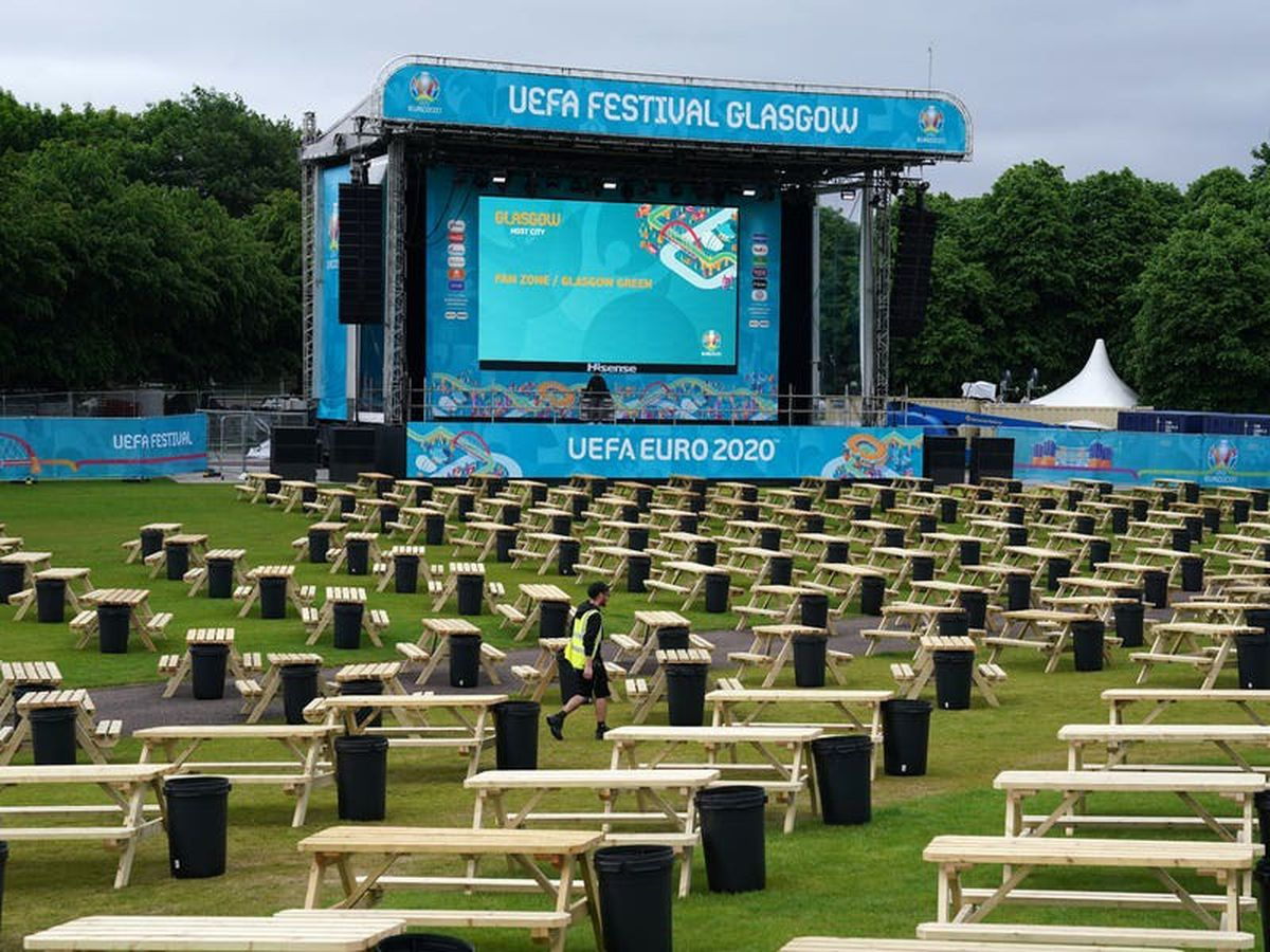 Fan zone will be one of the safest places to watch Euro 2020, claims official
