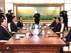 Two Koreas meet to discuss Olympic cooperation ahead of February's Games