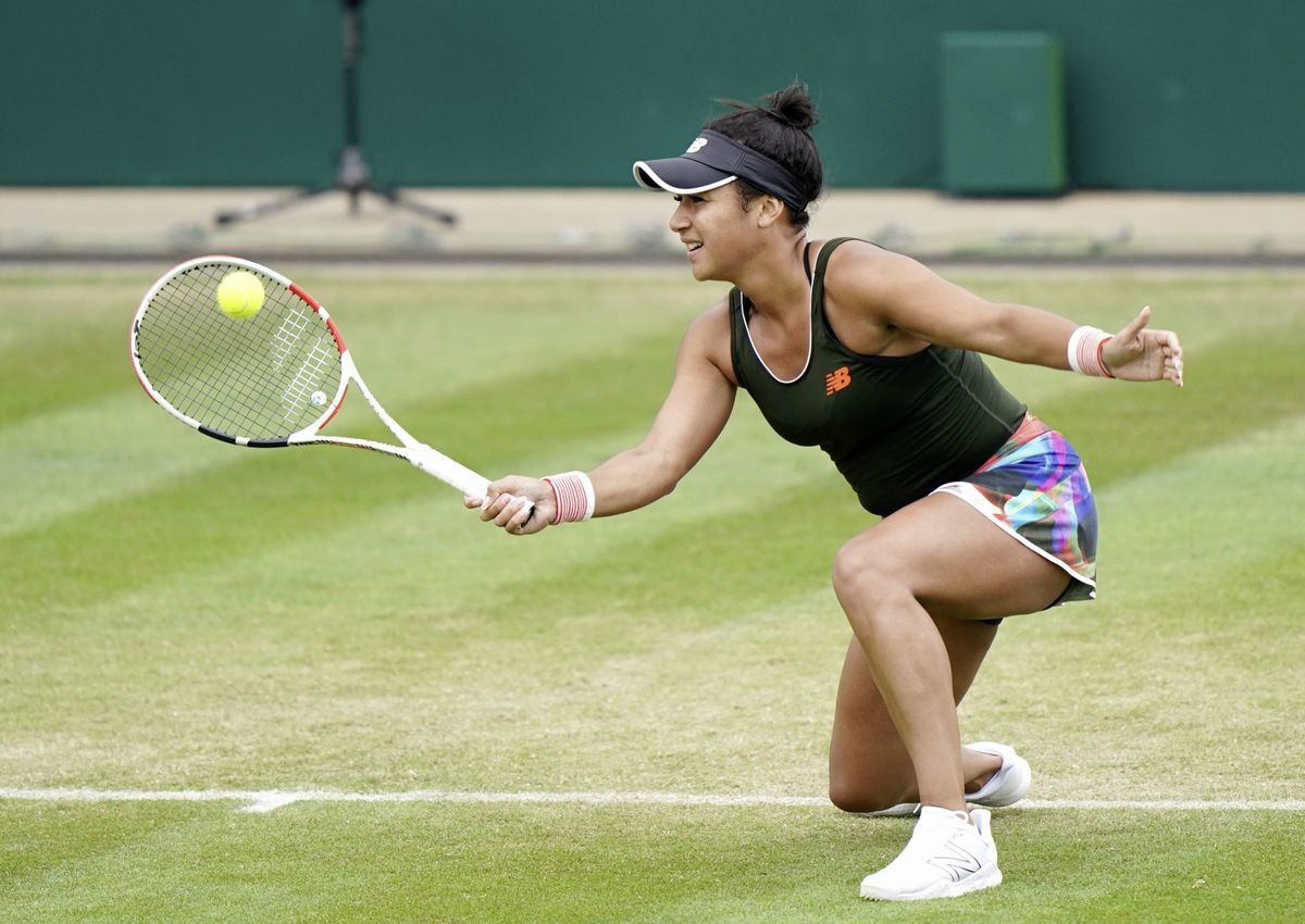 Heather Watson enjoyed a positive week at the Viking Classic in Birmingham. (Picture from PA Wire/PA Images, 29676208)
