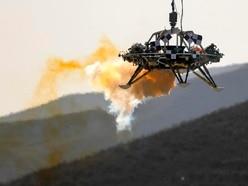 China shows off Mars lander for international observers