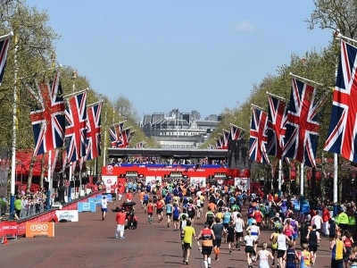 Policeman knifed by London Bridge attackers completes marathon