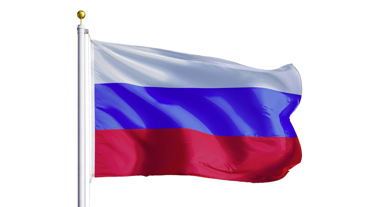Russia flag waving (29295508)