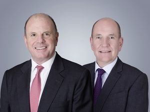 PraxisIFM Group chairman Andrew Haining (left) and chief executive Officer Rob Fearis (right). (28729928)