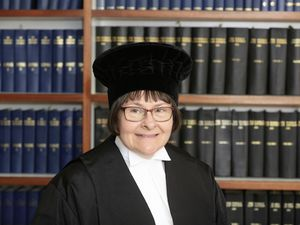 Catherine Fooks, who worked for one firm, Randell & Loveridge, since being called to the Guernsey Bar in July 1989, has been sworn in as the new judge of the Royal Court. (Picture by Adrian Miller, 29415698)