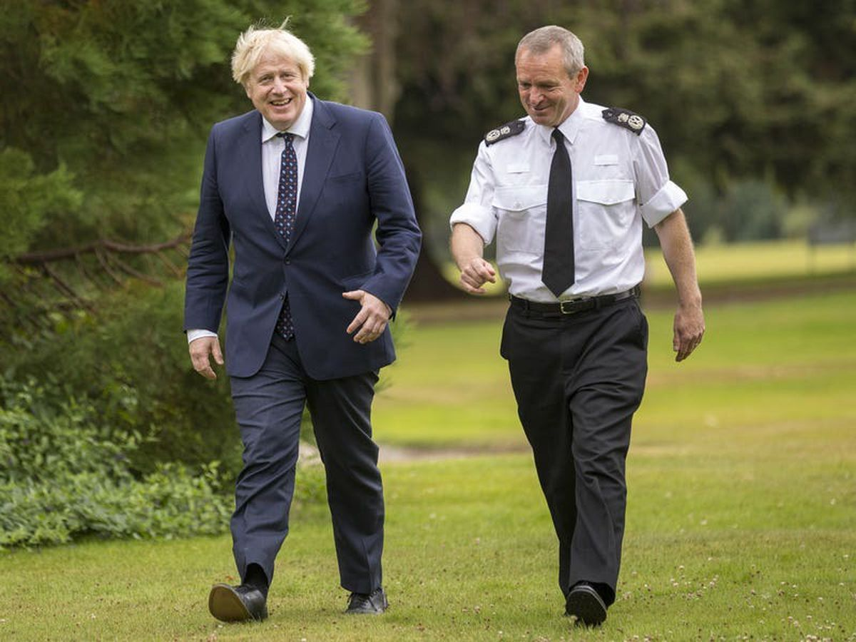 Police chief hails 'positive visit' as PM confirms funding for Cop26 policing