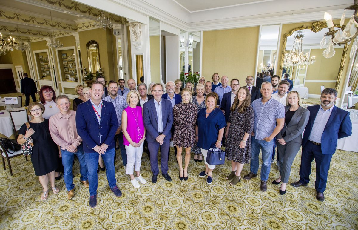 Judging for Pride of Guernsey 2020 Awards with Guernsey Press representatives and sponsors at OGH. (Picture by Sophie Rabey, 28704979)