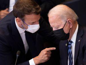 Macron expects 'clarifications' from Biden in submarine row