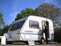 Caravan among strangest polling stations for European elections