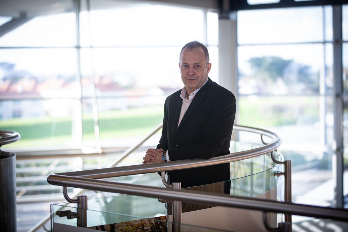 CEO of Aurigny Nico Bezuidenhout. (29280278)