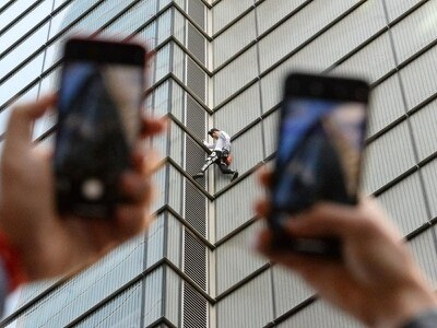 'French Spiderman' hopes to climb the charts with debut dance record