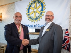 New Rotary Club president takes office in its 97th year