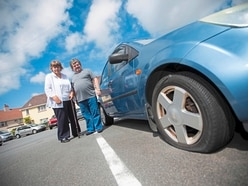 Slashed tyres leave disabled couple stranded at home
